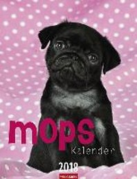 Mops Kalender - Kalender 2018
