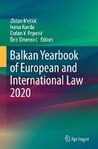 Balkan Yearbook of European and International Law 2020