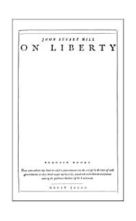 On Liberty (Penguin Great Ideas)