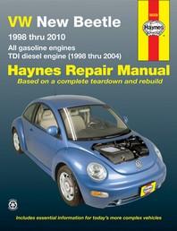 VW New Beetle 1998 Thru 2010 Haynes Repair Manual