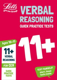 Letts 11+ Success - 11+ Verbal Reasoning Quick Practice Tests