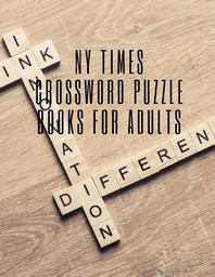 NY Times Crossword Puzzle Books For Adults