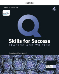 Q: Reading and Writing 4 SB with Online Practice
