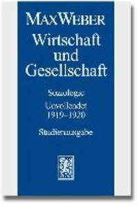 Max Weber - Studienausgabe