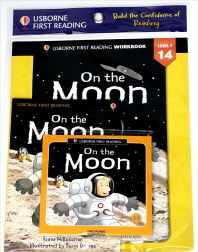 Usborne First Reading Workbook Set 1-14 : On the Moon (with CD)