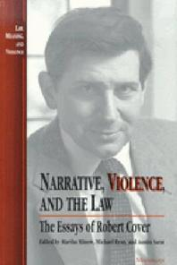 Narrative, Violence, and the Law