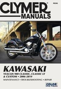 Kawasaki Vulcan 900 Classic, Classic LT & Custom 2006 - 2019
