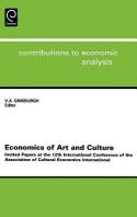 Economics of Art and Culture