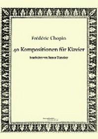 40 Kompositionen Fur Klavier Von Frederic Chopin