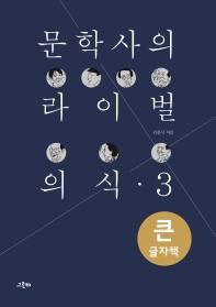 문학사의 라이벌 의식. 3(큰글자책)