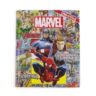 Marvel - Avengers, Guardians of the Galaxy, and Spider-man Look and Find Activity Book