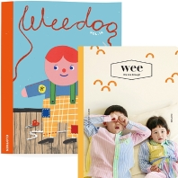 WEE Magazine(위매거진) Vol. 25 + WEE DOO 위두 Vol. 14 (2021.4월호): CLOTHES(전2권)