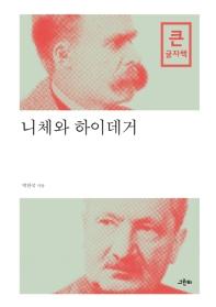 니체와 하이데거(큰글자책)