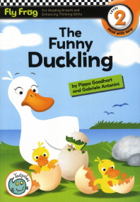 The Funny Duckling(CD1장포함)(Fly Frog Level 2-4)