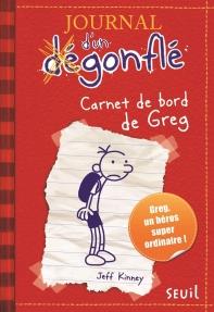 JOURNAL D'UN DEGONFLE, TOME1 : CARNET DE BORD DE GREG HEFFLEY