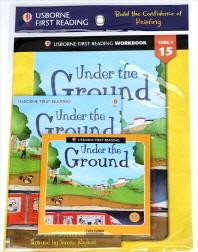 Usborne First Reading Workbook Set 1-15 : Under the Ground (with CD)