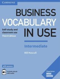 Business Vocabulary in Use Intermediate Book