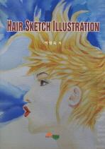 HAIR SKETCH ILLUSTRATION