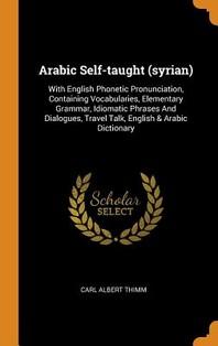 Arabic Self-Taught (Syrian)