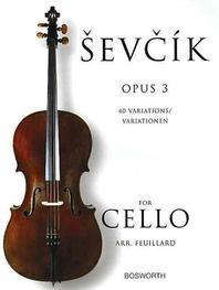 Sevcik for Cello, Opus 3