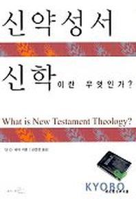 신약성서 신학이란 무엇인가