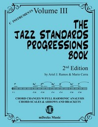 The Jazz Standards Progressions Book Vol. 3