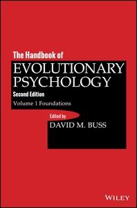 The Handbook of Evolutionary Psychology, Foundation