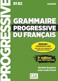(신판)Grammaire Progressive Du Francais Niveau Avance + Appli + Cd 3eme Edition