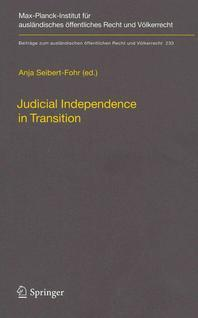 Judicial Independence in Transition