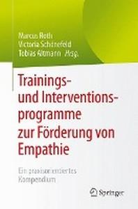 Trainings- Und Interventionsprogramme Zur Forderung Von Empathie