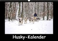 Husky-Kalender (Wandkalender 2022 DIN A3 quer)