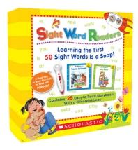 스콜라스틱 사이트 워드 리더스 Sight Word Readers Boxed Set (Book & CD) (팝펜에디션(팝펜미포함))