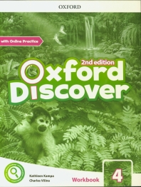 Oxford Discover: Level 4: Workbook with Online Practice