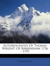 Autobiography of Thomas Wright