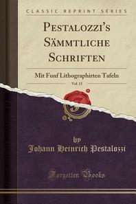 Pestalozzi's Sammtliche Schriften, Vol. 15