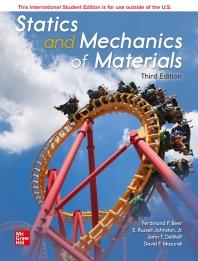 Statics and Mechanics of Materials (International Student Edition)