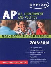Kaplan AP : U.S. Government and Politics 2013-2014