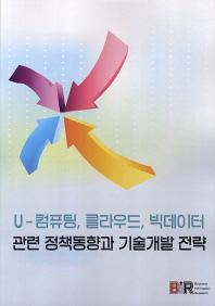 U 컴퓨팅 클라우드 빅데이터 관련 정책동향과 기술개발 전략