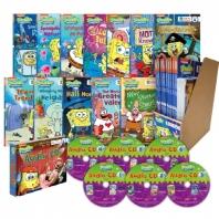 스폰지밥(SpongeBob SquarePants) 챕터북 12종 세트(B+CD)