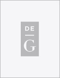 Germanistik, Sachregister (2000-2004)