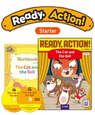 Pack-Ready Action 2E (Starter): The Cat and the Bell[SB+WB+CD]