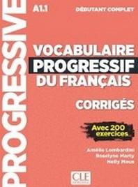 Vocabulaire progressif du francais. Niveau debutant complet - 3eme edition. Corriges + mp3-CD + Onli