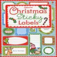 Christmas Sticky Labels