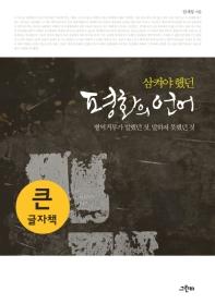 삼켜야 했던 평화의 언어(큰글자책)