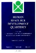 Human Resource Development Quarterly, Number 4, 2001