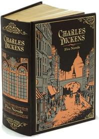 Charles Dickens: Five Novels (Barnes & Noble Leatherbound Classic Collection)