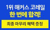 <2021 해커스 NCS 코레일 봉투모의고사로 한 번에 합격!>