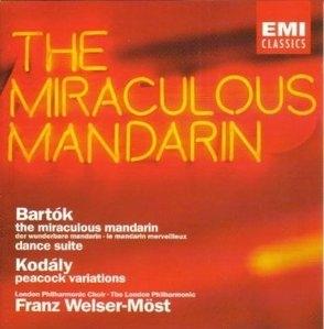 Franz Welser-Most / Bartok : Miraculous Mandarin, Dance Suite & Kodaly : Peacock Variations (수입/7548582)
