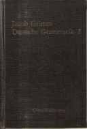 Jacob Grimm Deutsche Grammatik (6권 SET)
