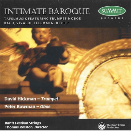 David Hickmann, Peter Bowman / Intimate Baroque: Bach, Vivaldi, Telemann, Hertel (수입/DCD118)